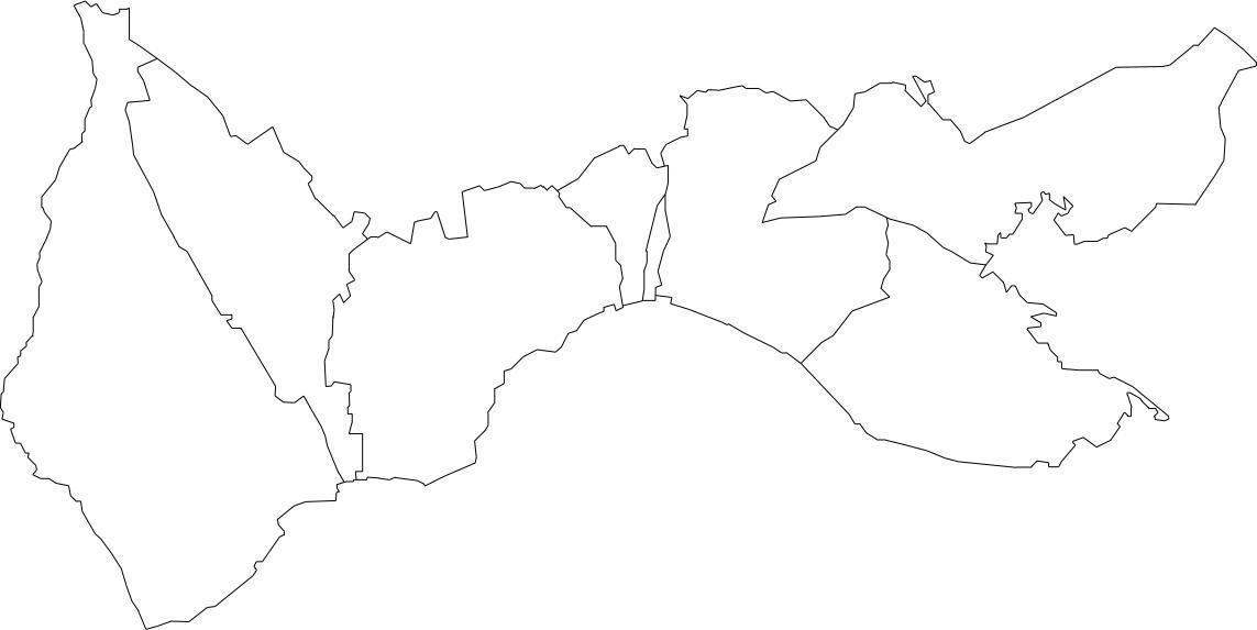 mapa de freguesias do concelho de set250bal