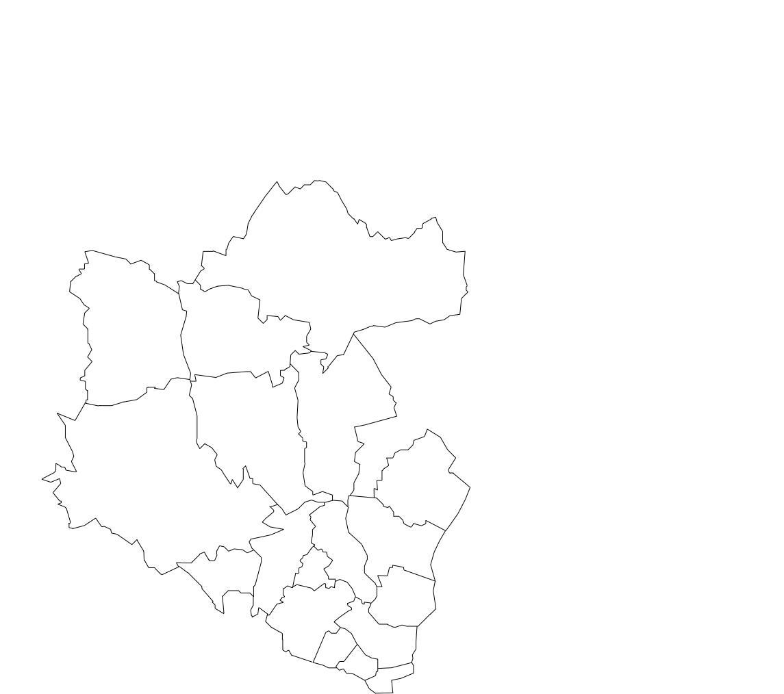 mapa loures Mapa de Freguesias do Concelho de Loures mapa loures