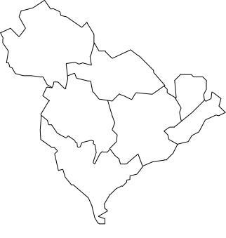 mapa do concelho de odivelas Mapa de Freguesias do Concelho de Odivelas mapa do concelho de odivelas