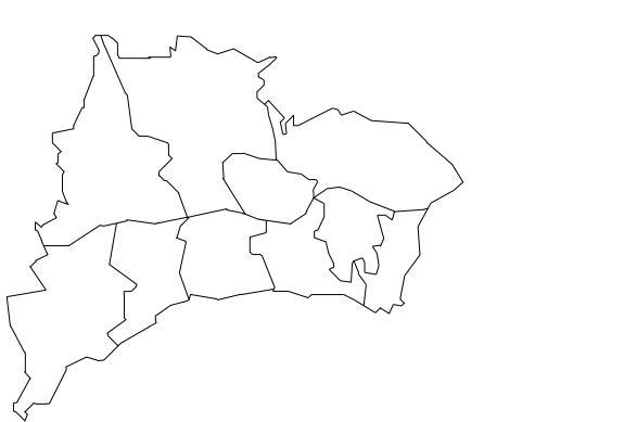 mapa concelho de oeiras Mapa de Freguesias do Concelho de Oeiras mapa concelho de oeiras